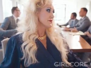Big tit black girl