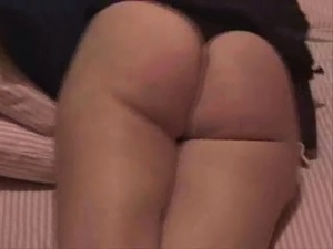 hard pussy spanking