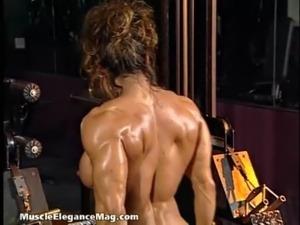 Nude muscle model