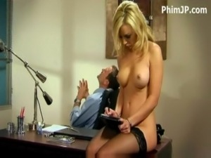 boss secretary blackmail outfit breasts