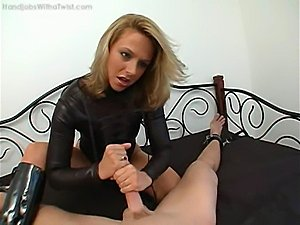 leather strap on pussy