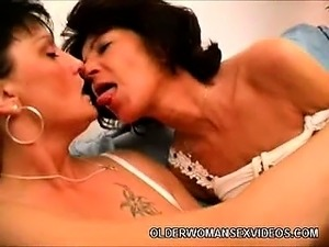 mature lesbian giving spanking