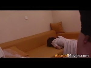 dugged girls get abused video