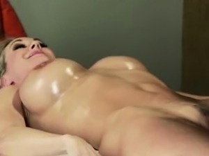 Lesbian hot oil massage