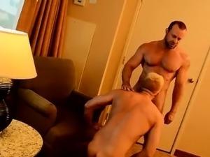 naked erect black muscle men
