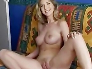video czech stunning blonde public train