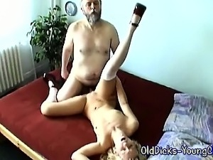 old man fucks young girl video