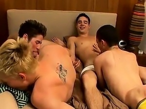 Twink movie Nothing perks up a weekend like a sizzling 4way