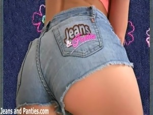 girls jeans butts