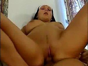 nun hardcore porn