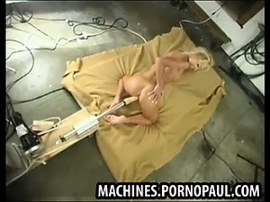 machine destroys girl porn
