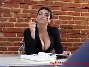 Lesbian sex with teacher