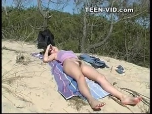 asian teen girls beach video thong