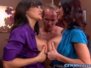 Huge titted milfs