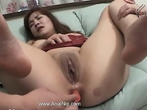 cute asian anal