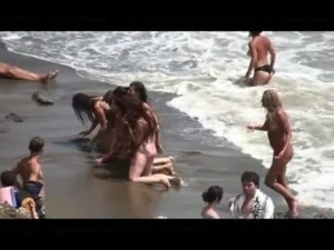 teen beach topless video