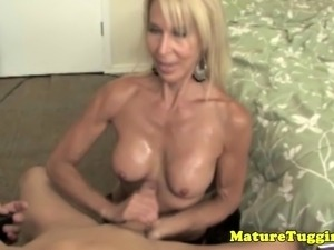 xxx mature wife ches son wanking