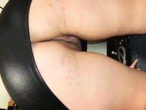 wife flashing her panties