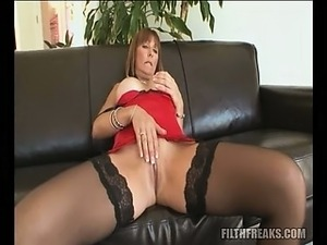 Hot lesbians in stockings