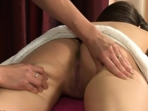 Lesbian vagina massage