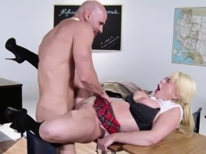 big sexy blonde