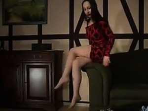 Mean Mistress Stepping All Over Him