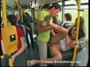 teen asian girls on bus fingered