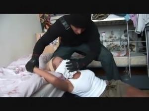 sleeping girl ass fingered