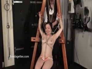 asian schoolgirl bondage