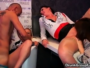 drunk wife lets friend fuck her