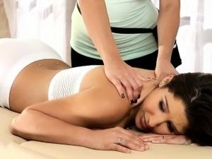 asian lesbian massage threesome