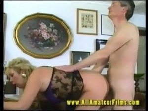 Horny GILF fucked on video free