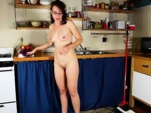 hardcore sex in the kitchen