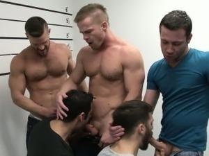 Prison sex porn