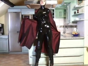 asian latex vids