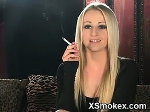 chicks smoking black cigarettes