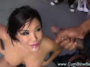 free mature gangbang bukkake cumshot videos