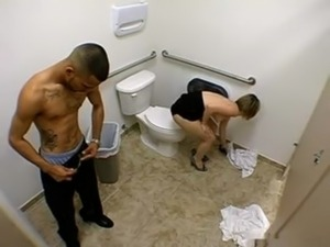 nude teen girl on the toilet