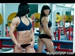 Sporty girl sex