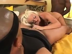 gorgeous blonde anal
