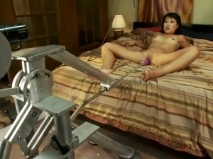girls ass fucked by machine