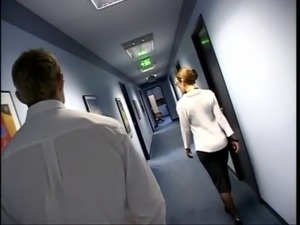 Secretaris porno clips