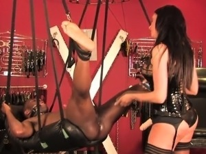 black girls in latex anal