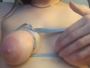 Little saggy tits