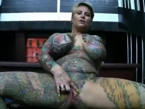 shaved pierced tattooed sex slaves