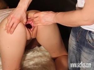 gaping pussy pump