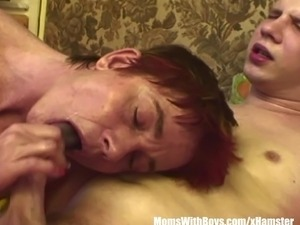 mature anal oiled