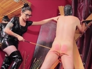 caning girls video