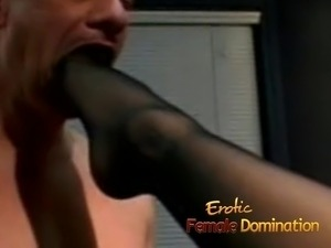 dominant wife slave husband black cock