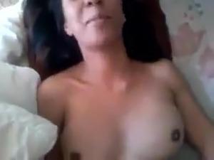 shy young girl gets body rub